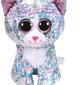 TY TY Whimsy Sequin Cat MD