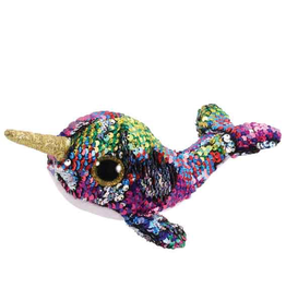 TY TY Calypso Sequin Narwhal