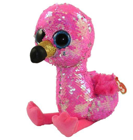 TY TY Pinky Sequin Flamingo