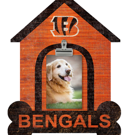 FAN CREATIONS Cincinnati Bengals Dog House Photo Clip Frame