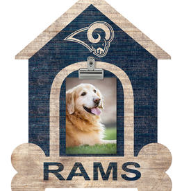FAN CREATIONS Los Angeles Rams Dog House Photo Clip Frame
