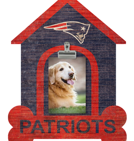 FAN CREATIONS New England Patriots Dog House Photo Clip Frame