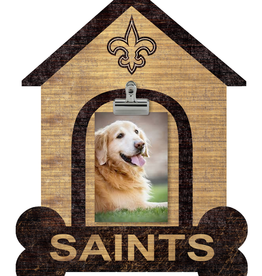 FAN CREATIONS New Orleans Saints Dog House Photo Clip Frame