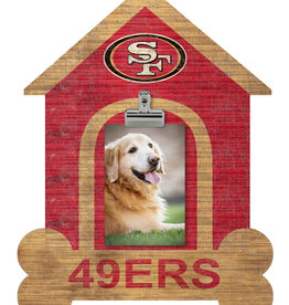 FAN CREATIONS San Francisco 49ers Dog House Photo Clip Frame