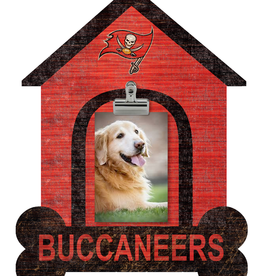 FAN CREATIONS Tampa Bay Buccaneers Dog House Photo Clip Frame