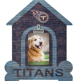 FAN CREATIONS Tennessee Titans Dog House Photo Clip Frame