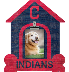 FAN CREATIONS Cleveland Indians Dog House Photo Clip Frame