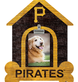 FAN CREATIONS Pittsburgh Pirates Dog House Photo Clip Frame