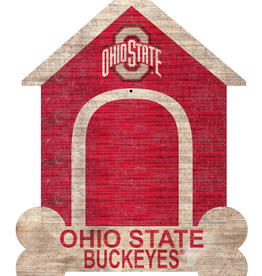 FAN CREATIONS Ohio State Buckeyes Dog House Photo Clip Frame