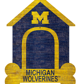 FAN CREATIONS University of Michigan Wolverines Dog House Photo Clip Frame