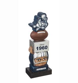 EVERGREEN Dallas Cowboys Vintage Tiki Totem