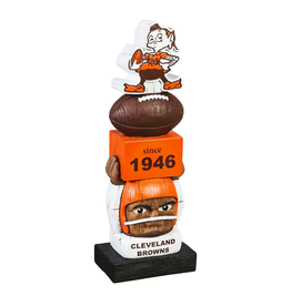 EVERGREEN Cleveland Browns Vintage Tiki Totem
