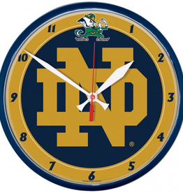 WINCRAFT Notre Dame Fighting Irish Round Wall Clock