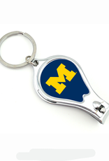 WORTHY PROMOTIONAL PRODUCTS Michigan Wolverines Multi Function 3-in-1 Keyring