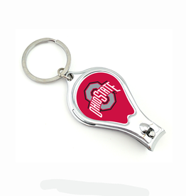 WORTHY PROMOTIONAL PRODUCTS Ohio State Buckeyes Multi Function 3-in-1 Keyring