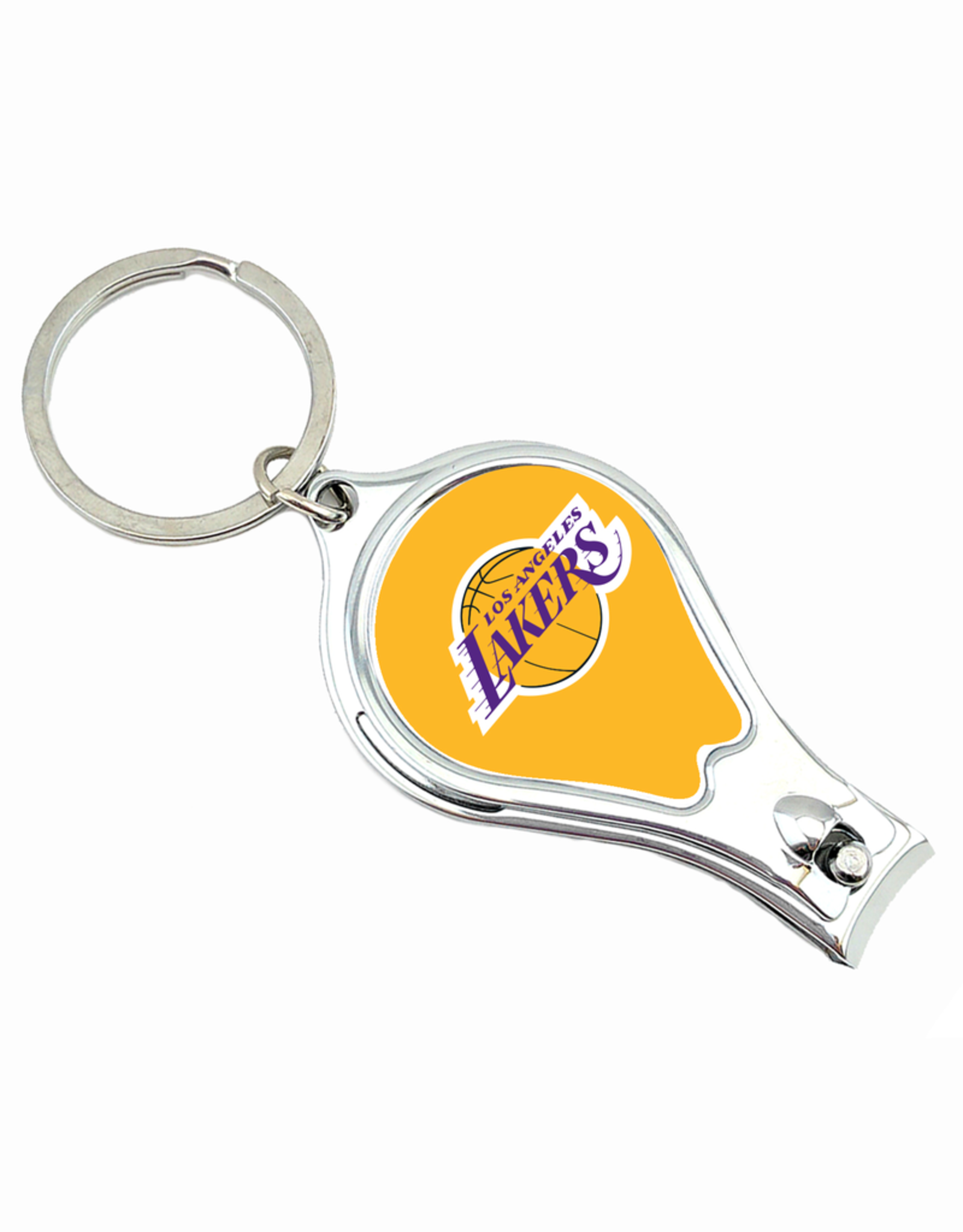 WORTHY PROMOTIONAL PRODUCTS Los Angeles Lakers Multi Function 3-in-1 Keyring