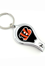 WORTHY PROMOTIONAL PRODUCTS Cincinnati Bengals Multi Function 3-in-1 Keyring