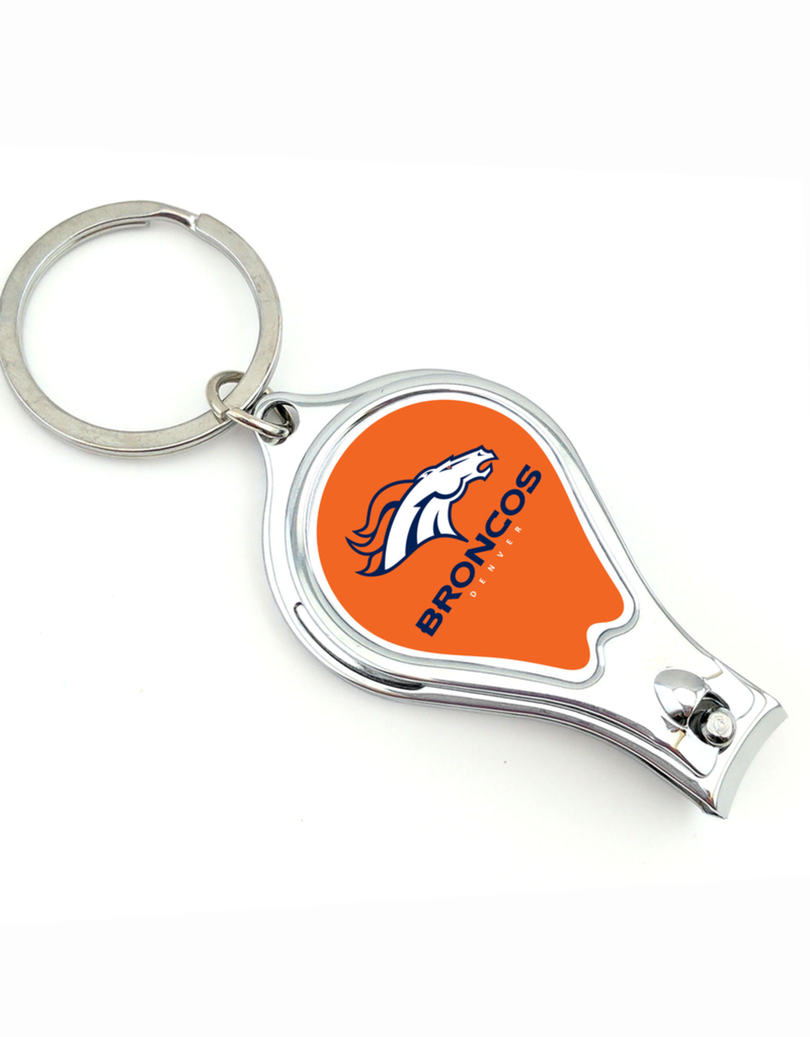 WORTHY PROMOTIONAL PRODUCTS Denver Broncos Multi Function 3-in-1 Keyring