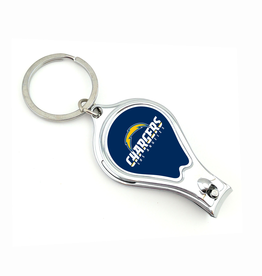 WORTHY PROMOTIONAL PRODUCTS Los Angeles Chargers Multi Function 3-in-1 Keyring