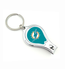 WORTHY PROMOTIONAL PRODUCTS Miami Dolphins Multi Function 3-in-1 Keyring