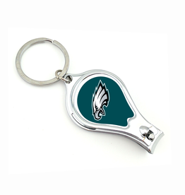 WORTHY PROMOTIONAL PRODUCTS Philadelphia Eagles Multi Function 3-in-1 Keyring