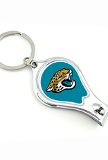 WORTHY PROMOTIONAL PRODUCTS Jacksonville Jaguars Multi Function 3-in-1 Keyring