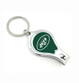 WORTHY PROMOTIONAL PRODUCTS New York Jets Multi Function 3-in-1 Keyring