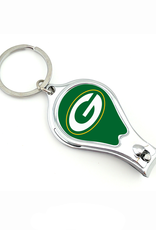 WORTHY PROMOTIONAL PRODUCTS Green Bay Packers Multi Function 3-in-1 Keyring