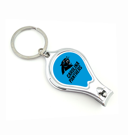 WORTHY PROMOTIONAL PRODUCTS Carolina Panthers Multi Function 3-in-1 Keyring
