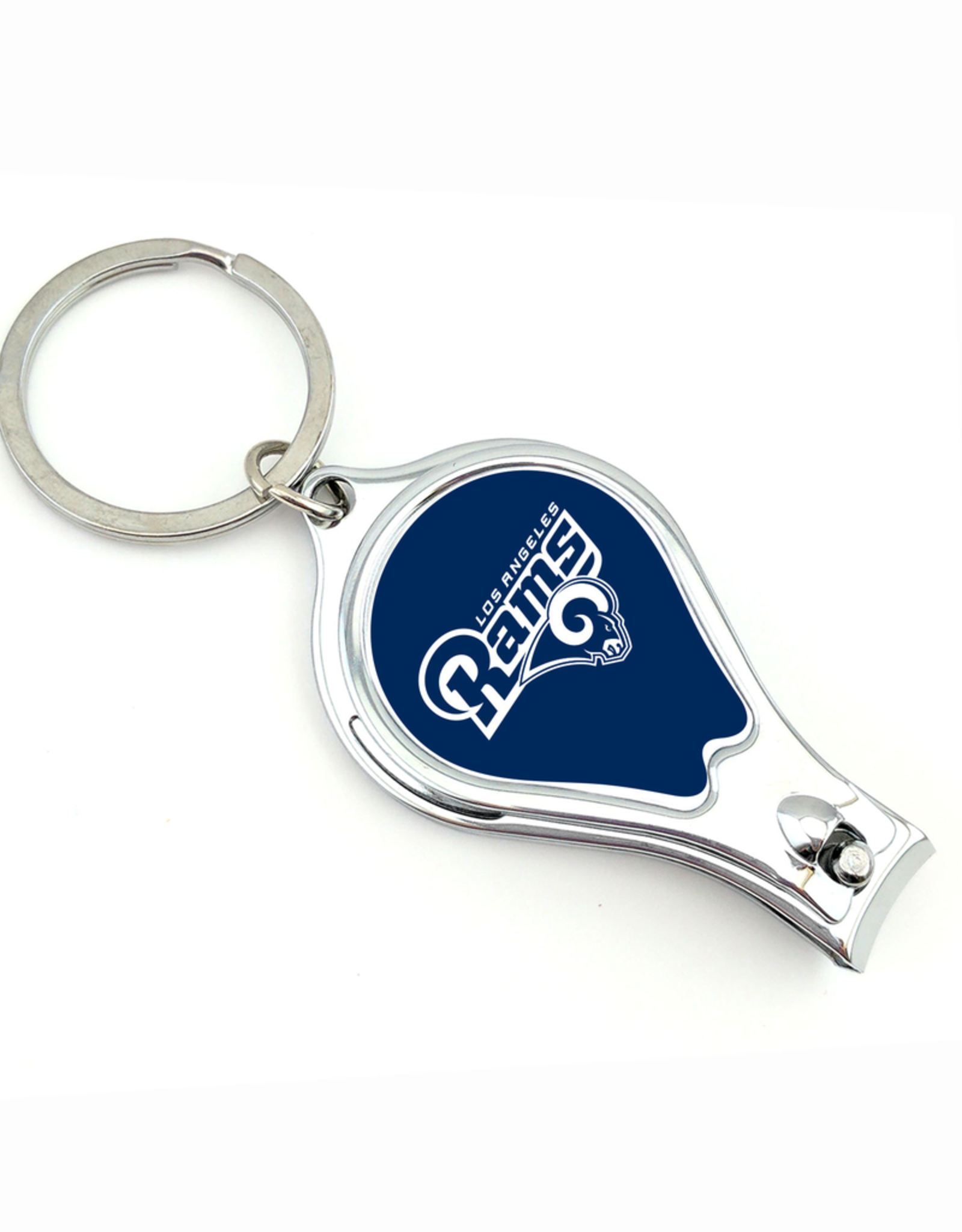 WORTHY PROMOTIONAL PRODUCTS Los Angles Rams Multi Function 3-in-1 Keyring