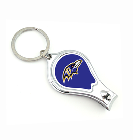 WORTHY PROMOTIONAL PRODUCTS Baltimore Ravens Multi Function 3-in-1 Keyring