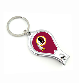 WORTHY PROMOTIONAL PRODUCTS Washington Redskins Multi Function 3-in-1 Keyring