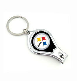 WORTHY PROMOTIONAL PRODUCTS Pittsburgh Steelers Multi Function 3-in-1 Keyring