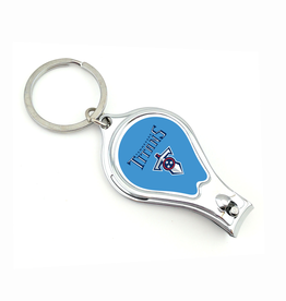 WORTHY PROMOTIONAL PRODUCTS Tennessee Titans Multi Function 3-in-1 Keyring