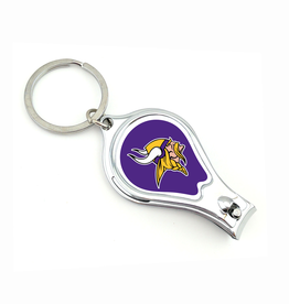 WORTHY PROMOTIONAL PRODUCTS Minnesota Vikings Multi Function 3-in-1 Keyring