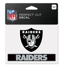"WINCRAFT Oakland Raiders 4.5"" x 5.75"" Perfect Cut Decals"