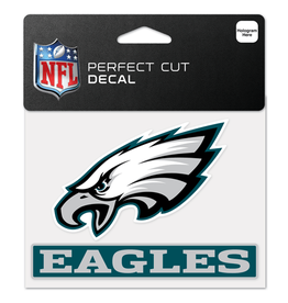 "WINCRAFT Philadelphia Eagles 4.5"" x 5.75"" Perfect Cut Decals"