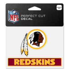 "WINCRAFT Washington Redskins 4.5"" x 5.75"" Perfect Cut Decals"