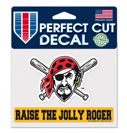 "WINCRAFT Pittsburgh Pirates 4.5"" x 5.75"" Perfect Cut Decals"