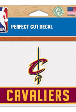 "WINCRAFT Cleveland Cavaliers 4.5"" x 5.75"" Perfect Cut Decals"