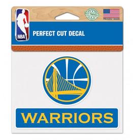 "WINCRAFT Golden State Warriors 4.5"" x 5.75"" Perfect Cut Decals"