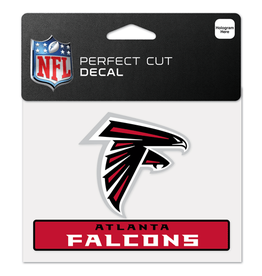 "WINCRAFT Atlanta Falcons 4.5"" x 5.75"" Perfect Cut Decals"