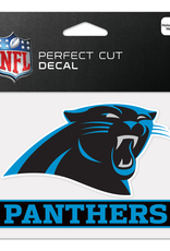 "WINCRAFT Carolina Panthers 4.5"" x 5.75"" Perfect Cut Decals"