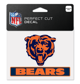 "WINCRAFT Chicago Bears 4.5"" x 5.75"" Perfect Cut Decals"