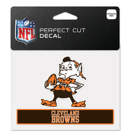 "WINCRAFT Cleveland Browns 4.5"" x 5.75"" Perfect Cut Decals"