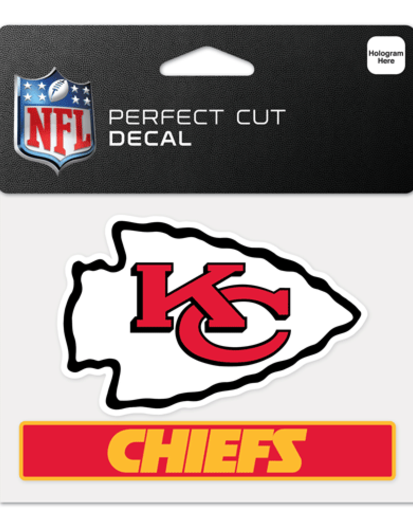 Chiefs Kansas SB54 Champions Precision Cut Decal