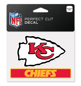 "WINCRAFT Kansas City Chiefs 4.5"" x 5.75"" Perfect Cut Decals"