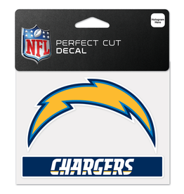 "WINCRAFT Los Angeles Chargers 4.5"" x 5.75"" Perfect Cut Decals"