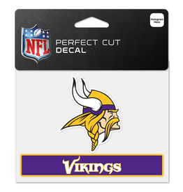 "WINCRAFT Minnesota Vikings 4.5"" x 5.75"" Perfect Cut Decals"