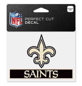 "WINCRAFT New Orleans Saints 4.5"" x 5.75"" Perfect Cut Decals"